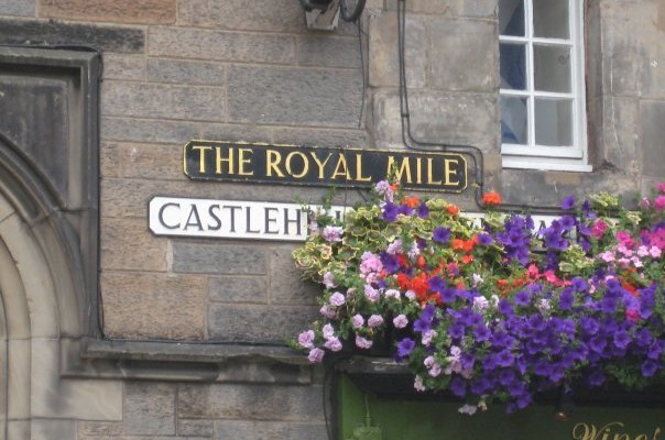 The Royal Mile of Edinburgh